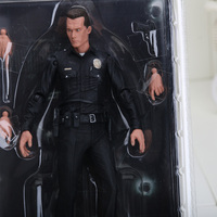 7inch 18cm NECA The Terminator 2 Action Figure T1000 Galleria Mall Pvc Action Figure Toy Model