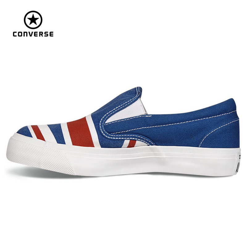 Original Converse all star shoes low sneakers United States and Britain s  flag canvas shoes women Skateboarding free shipping 204a8f04c