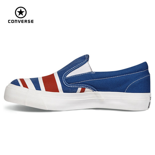 260e2c315e2d Original Converse all star shoes low sneakers United States and Britain s  flag canvas shoes women Skateboarding free shipping