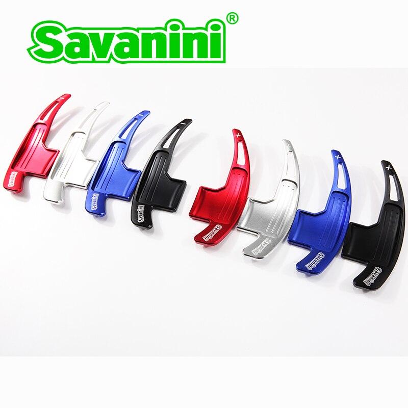 Savanini 2pcs Αλουμινένιο τιμόνι αλλαγής - Ανταλλακτικά αυτοκινήτων - Φωτογραφία 2