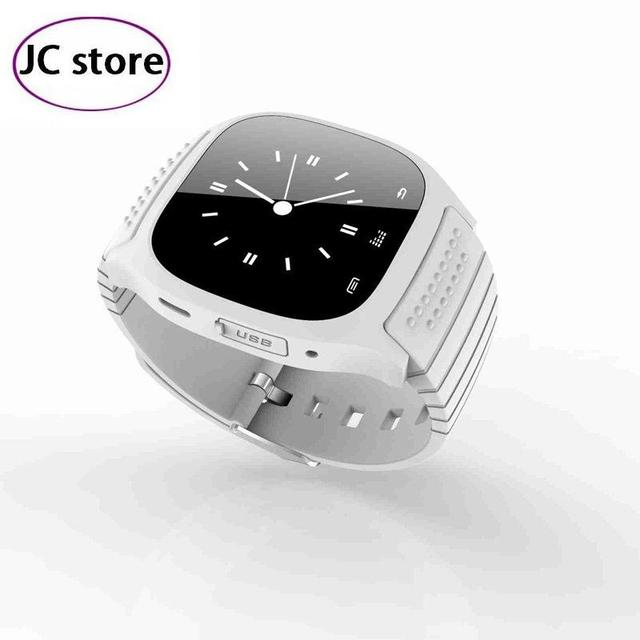 2016 Global Fashion M26 Bluetooth Smart  Watch  With Dial / Alarm / Music Player / Pedometer for Android IOS HTC Mobile Phone