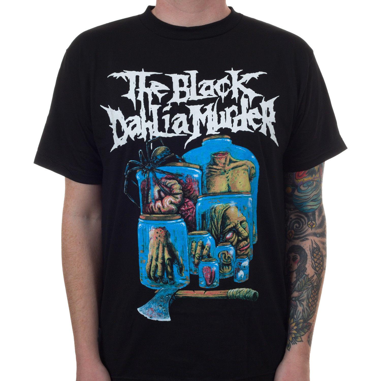 Authentic THE BLACK DAHLIA MURDER Nocturnal Cover T-Shirt S M L XL 2XL NEW