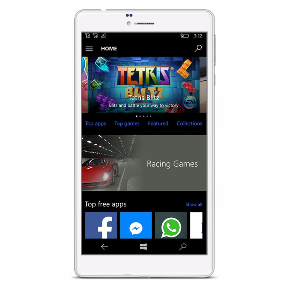Cube WP10 Win10 6.98 inch 4G MSM8909 Quad Core 1.3GHz 2GB RAM 16GB ROM 5.0MP Rear Camera IPS WiFi OTG Tablet Phablet Mobile  1
