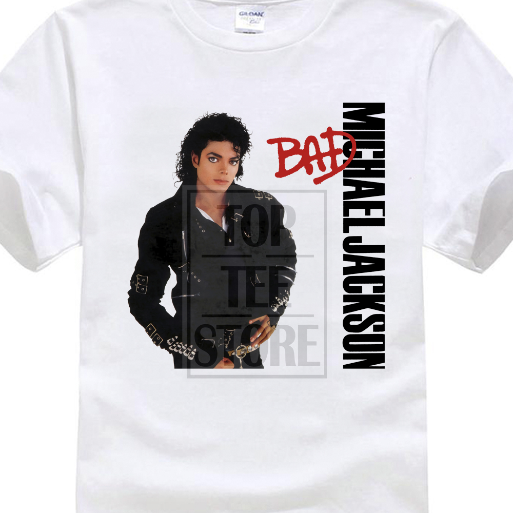 design your own shirt crew neck michael jackson bad