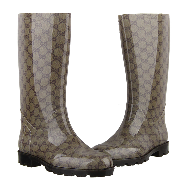 ФОТО Plate fashion boots rainboots classic rainboots fashion women rainboots european size 39,40