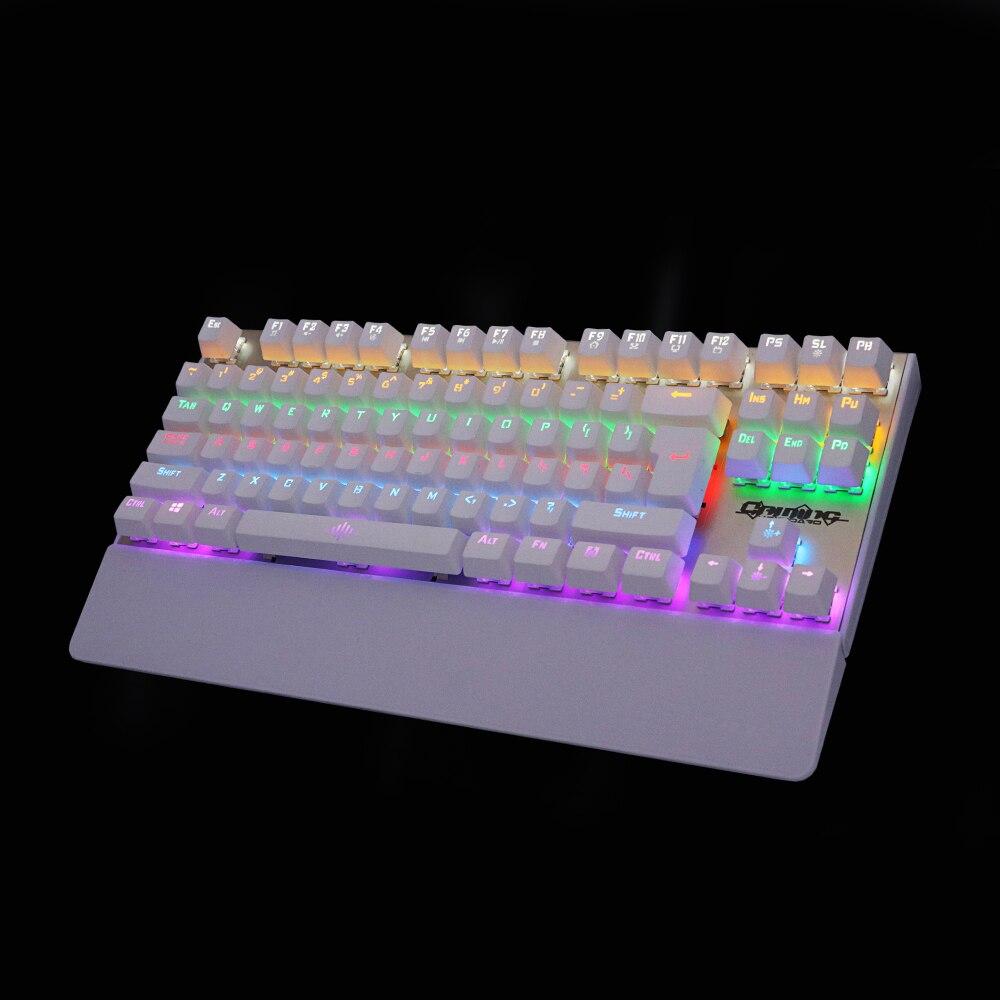 Echt mechanisch toetsenbord met achtergrondverlichting Gaming - Computerrandapparatuur - Foto 3