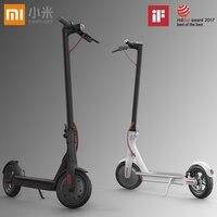 Original Xiaomi Mijia M365 Patinete Electrico Scooter Longboard Hoverboard Skateboard 2 Wheel Electric Scooter 30KM Mileage