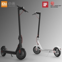 Original Xiaomi Mijia M365 Patinete Electrico Scooter Longboard Hoverboard Skateboard 2 Wheel Electric Scooter 30KM Mileage