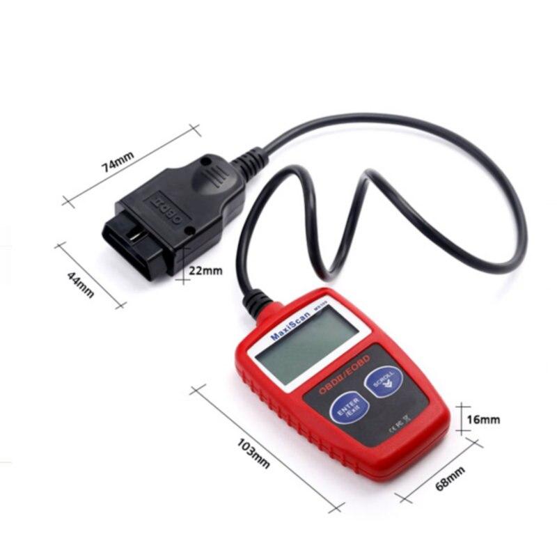 Autel MaxiScan MS309 OBDII сканер кодов obd2 автомобильный диагностический инструмент оригинальный и профессиональный сканер MaxiScan MS309