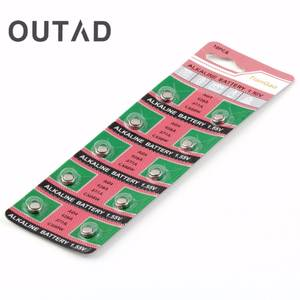 OUTAD Watches 10pcs LR626 LR-626 AG4 177 377A SR626 Battery