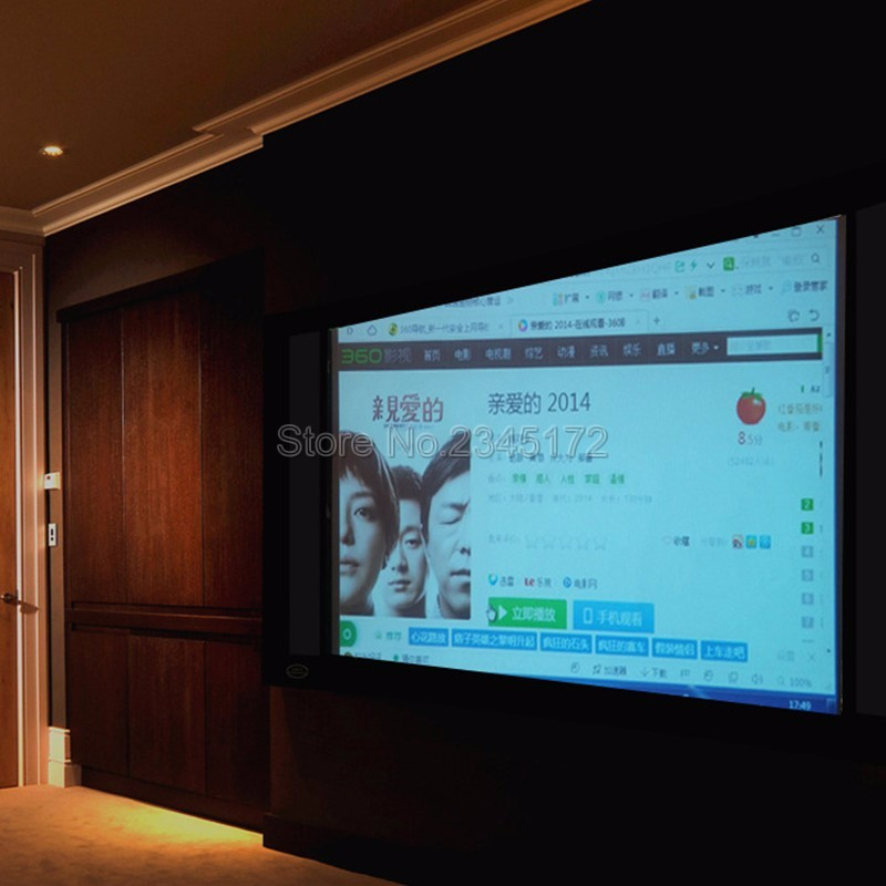 2019 60inch 16:9 Simple Projector High Definition Screen