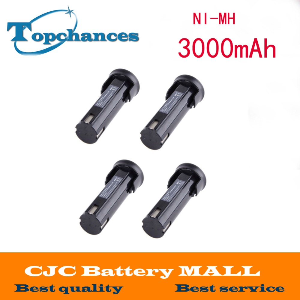 ФОТО 4x 3000MAH 2.4V Battery for MILWAUKEE 48-11-0100 6539-6 6540-1 6545-6 6546-1 NEW