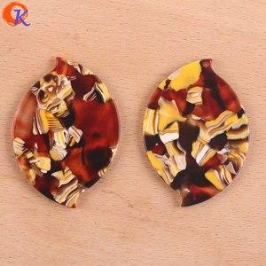 Image 5 - Cordial Design pour bijoux, 32x46mm, 50 pièces, accessoires pour fabrication de bijoux, forme ovale, acide acétique bijoux à bricoler soi même