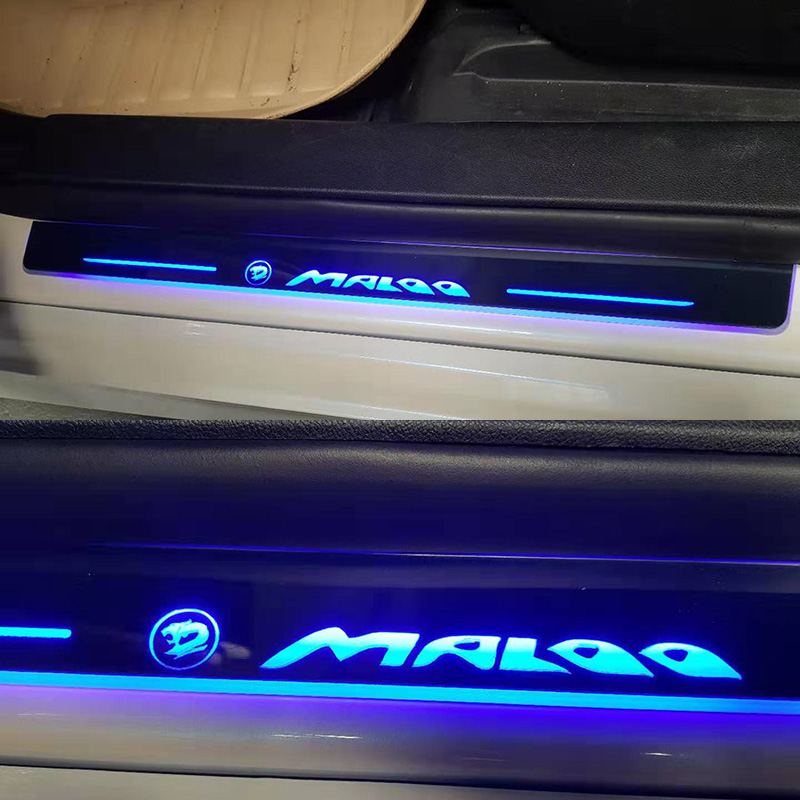 LED Door Sill Scuff Plate Guards Door Sill For Holden SS SSV Maloo Thunder Streamer Dynamic Pedal
