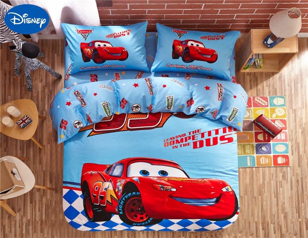 Lightning McQueen Cars Print Bedding Sets for Baby Boys ...