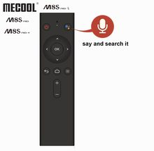 Bluetooth Voice Remote Control Replacement For Mecool Android TV Box Mecool M8S PRO L and M8S PRO TV Box Accessories(China)