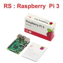 Великобритания Сделала Малины Pi3 модели B 1 ГБ 1.2 ГГц 64bit quad-core Процессор Wi-Fi и Bluetooth Малина Pi3 доска RS версия бесплатная доставка