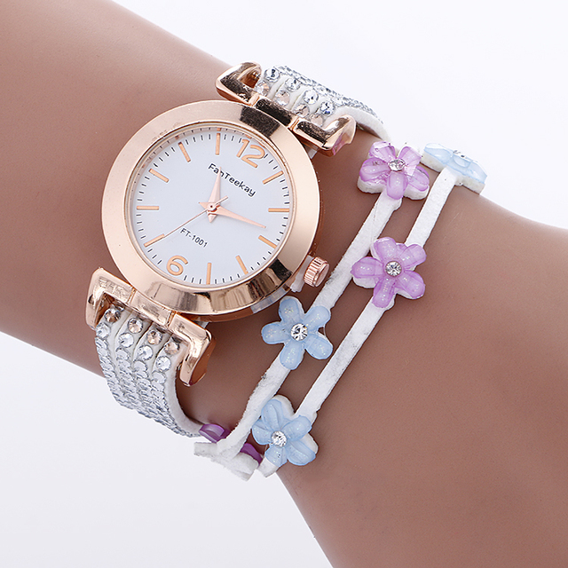 Ladies Watch Fashion Bracelet Watch Women Elegant Crystal Dress Watches Reloj Mu