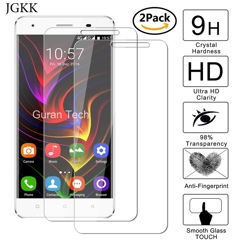 2PCS Protective Tempered Glass Film For Oukitel C5 C11 C12 C13 Pro C8 K5000 K4000 K1000 Pro K6000 Plus K3 K6 K8 Screen Protector