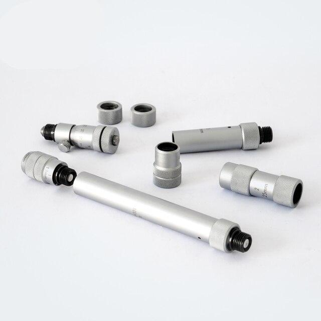 Micromètre de diamètre interne 50-250mm précision à lintérieur du micromètre trou alésage diamètre interne jauge de haute précision