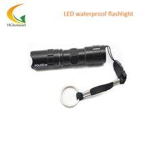 Mini Black LED Flashlight Q5 Lanterna Waterproof Tactical Torch Light scuba light led