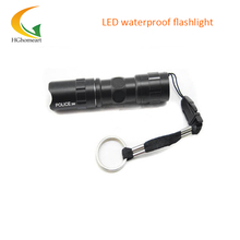 Mini Black LED Flashlight Q5  Lanterna Waterproof Tactical Torch Light scuba light led