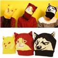 Super Stylish!! Doge Knit Hat Creative Animal Winter Hat For Women Man Skullies Beanies Unisex Cap Bonnet Christmas Gift Hat
