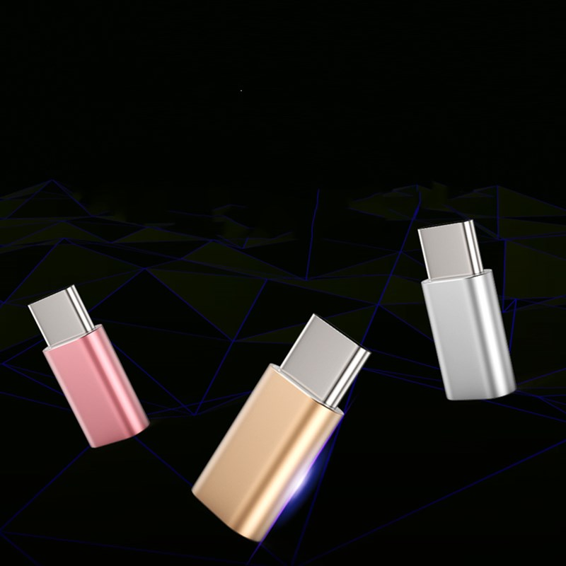 2 Pcs Universal Usb 3.1 Type-c Male Connector To Micro Usb Female Converter Usb-c Data Adapter Type C Device To Assure Years Of Trouble-Free Service