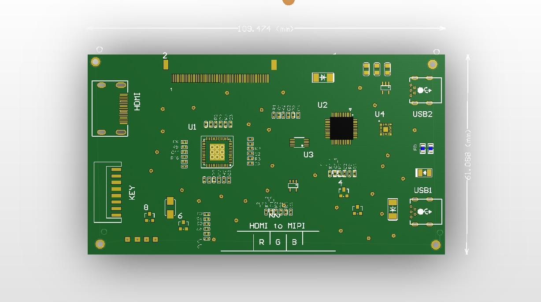 E & M 5 pollici IPS 1920*1080 60 hz Schermo LCD HDMI LTPS Modulo Per Il FAI DA TE VR Oculus rift DK1 DK2 di Realtà Virtuale di Visualizzazione del Monitor - 5