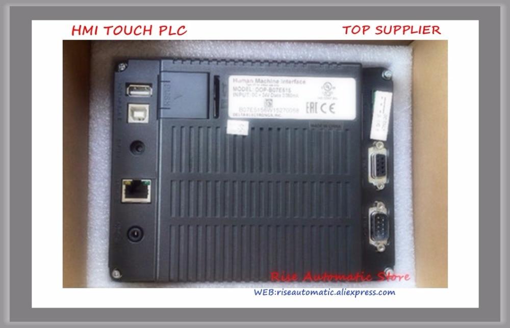 New Original HMI DOP-B07E515 DOP-B07E415 7-inch Widescreen Touch Screen high-quality new original gp 4501tw pfxgp4501tadw hmi dc24v 10 4 inch touch screen ethernet