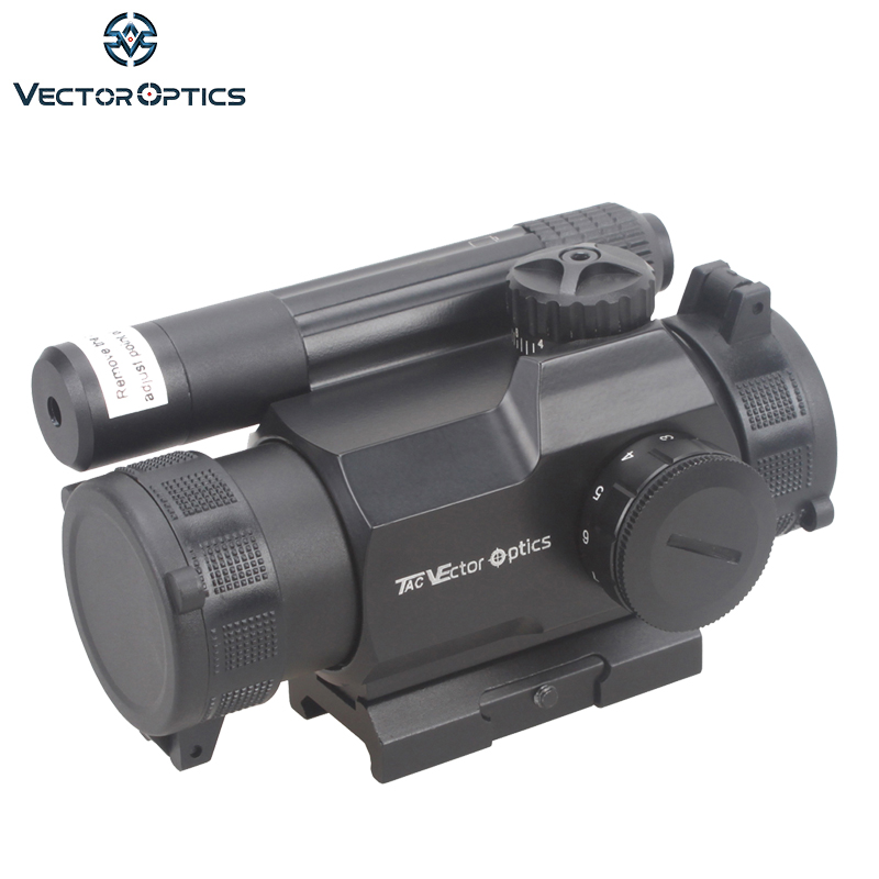 Vector Optics Rayman 1x30 Red Dot Scope GunSight with Side GREEN Laser Sight Combo AK15 AK 47 Weapon Sight fit Picatinny Rail vector optics rayman 1x30 tactical 21mm weaver rise mount red laser gun reflex red dot sight scope