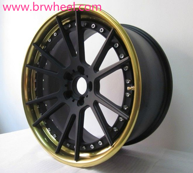 "BSL01 Custom Aftermarket 3PC light alloy wheels 19"" inch"