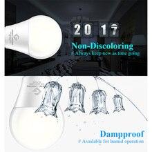 2017 New Smart IC LED Bulb LED Lamp 15W 220V 110V LED Light LED Spotlight Light Warm Cool White E27 ED Bulb