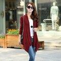 2015 женщин осень мода все матч малый герб свитер женский солнцезащитный крем одежда оптом
