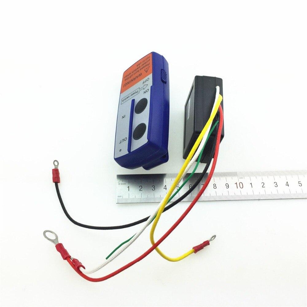 STARPAD Auto Elektrische Lier Draadloze Afstandsbediening Kleine Autokraan/Winch Draadloze Controller 12 v/24 v
