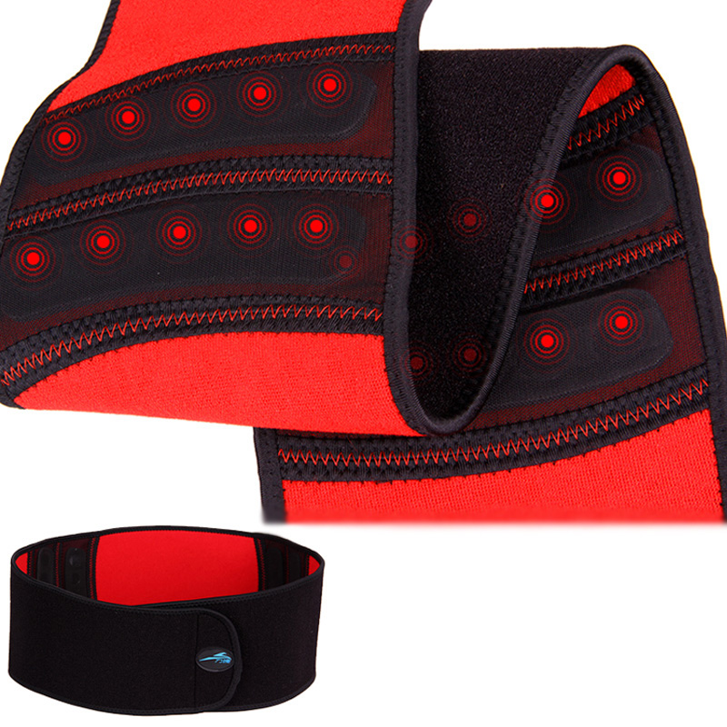 2014 New Magnetic therapy Self heating waist brace relief back pain adjustable elastic waist support belt lumbar protector brace tcare adjustable tourmaline self heating magnetic therapy waist support belt lumbar back waist brace double band health care