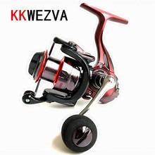 KKWEZVA Metal Deep cup  2000H-5000H Spinning Fishing Reel Hi-Speed Full Wheel + Rocker And EVA hold