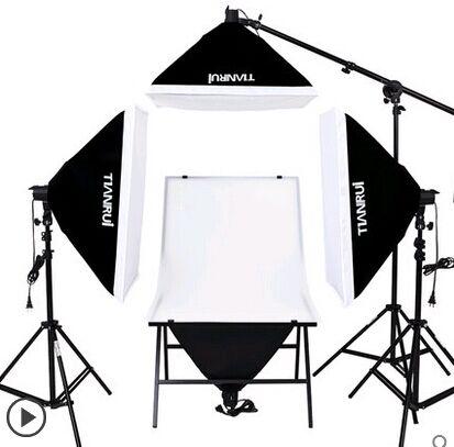 DHL LIBERA il TRASPORTO 4 PZ 175 W BULBSphoto stuido photography set fotografico tavolo set singola lampada stazione di attrezzature fotografiche