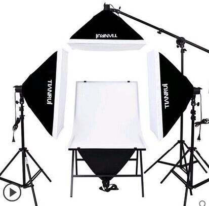 DHL LIVRAISON GRATUITE 4 PCS 175 W BULBSphoto stuido photography ensemble photo table lampe ensemble unique station matériel photographique