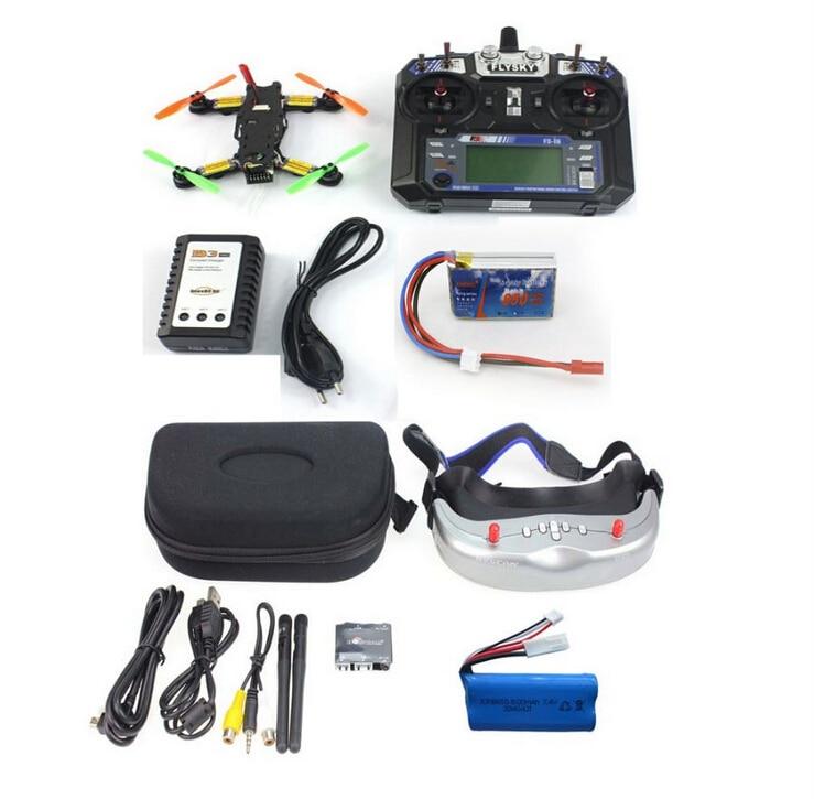 FPV 2.4G 6CH RC Mini Racing Quadcopter Drone Tarot 130 RTF Full Set TL130H1 CC3D 520TVL HD Camera 5.8G 32CH Goggle jmt fpv rc mini racing quadcopter drone tarot 130 rtf full set tl130h1 cc3d 520tvl hd camera 5 8g 32ch goggle no drone battery