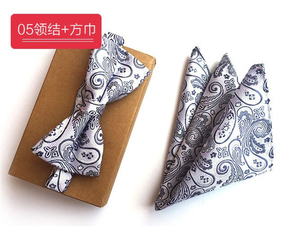 Generous Cityraider New Grey Paisley Print Mens Slim Necktie Gift Mens Silk Ties For Men Handkerchief With Bow Tie Match 2pcs Set Cr015 Apparel Accessories