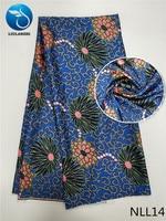 LIULANZHI african silk satin imitated silk fabric african satin fabric satin silk fabric arrival for party dress 5yards NLL01 19