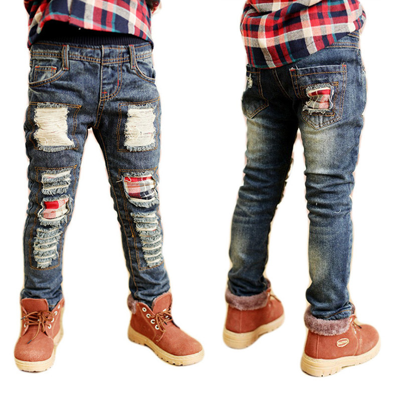 Aliexpress.com : Buy boys jeans kd 7 Fashion Torn kids ripped ...