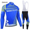 BXIO New Long Sleeve Mans MTB Jersey Clothes Winter Thermal Fleece Cycling Clothes Ropa Ciclismo Invierno