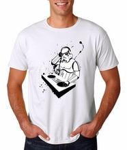 Cool Stormtrooper DJ T-shirt