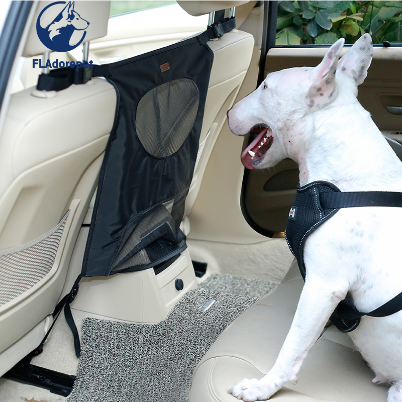 Dog Pet Cat Car Seat Safety Barrier Waterproof Anti-collision Adjustable Travel Pet Dog Car Seat Fence Back Seat Isolation Net