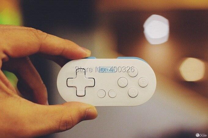 150 шт./лот 8bitdo zero маленький игровой контроллер Bluetooth затвора для IOS/Android/окно/Mac OS ...