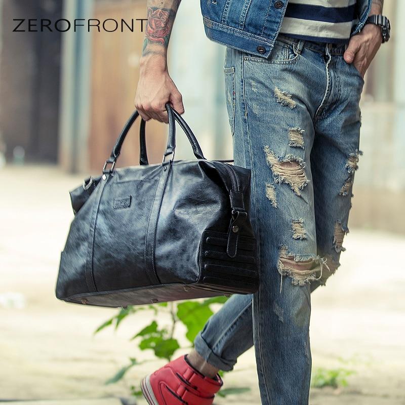 100% Wahr Zerofront Neue Männer Casual Reisetasche Tasche Handtasche Große Reise Duffle Taschen Männer Schulter Bags15inch Laptop Tasche
