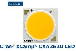 2pcs/lot US.CREE CXA 2520 Beads 47W High Power LED Chip 2700~3000K@5000~6500k Pure white/Warm White
