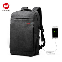 2017 New Arrival Men 15 6inch Laptop Backpack External Charging USB Function Anti Theft Fashion Male